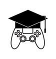 games academy logo vector image
