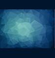 multicolor dark blue geometric rumpled triangular vector image