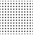 polka dot pattern seamless texture black white vector image vector image