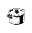stock pot vector image vector image