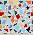 terrazzo colorful flooring seamless texture vector image vector image