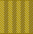 zig zag gold seamless pattern vector image vector image