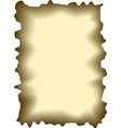 Abstract burnt paper vector image