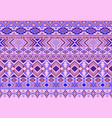 boho pattern tribal ethnic motifs vector image