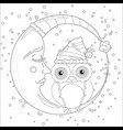 coloring book for adult and children coloring vector image vector image