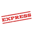 Express Watermark Stamp vector image