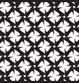 geometric monochrome pattern vector image vector image
