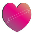 heart of a hippaster billet vector image vector image