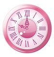 Retro style clock vector | Price: 1 Credit (USD $1)