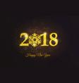holiday new year card 4 vector image vector image