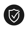 safety icon vector image vector image
