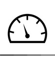 speedometer and tachometer icon design vector image vector image