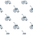 Wheelchair icon cartoon Single medicine icon from vector image