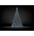 Christmas fir background EPS 8 vector image