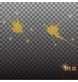gold glitter dust texturegold particles luxury vector image