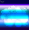 Abstract blue and light background vector image vector image
