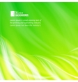 Green glowing background vector image vector image