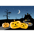 halloween celebration picture vector image vector image