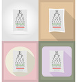 medical flat icons 11 vector image vector image