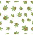 seamless texture medical marijuana two vector image vector image