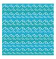 abstract sea waves background vector image vector image