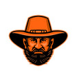 general ulysses grant mascot vector image vector image