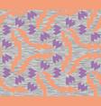 neon geometric gray marl heather seamless pattern vector image vector image