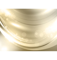 abstract golden holiday background vector image vector image