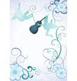 angels violin vector image vector image