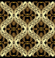 baroque gold seamless pattern antiqu vector image vector image