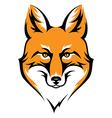 fox color vector image vector image