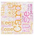 Keep College Student Credit Cards Under Control