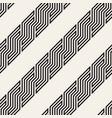 seamless geometric pattern modern interlaced vector image