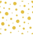 Sequins on white background vector image vector image