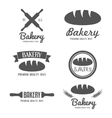Set of logo badge label emblem and logotype vector image vector image