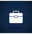 suitcase icon icon travel business sign symbol vector image vector image
