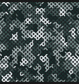 tundra camouflage seamless pattern winter vector image vector image