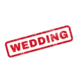 Wedding Rubber Stamp vector image vector image