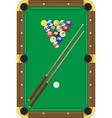 billiard vector image