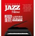 festival jazz celebration music desing vector image
