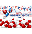 4 july independence day vector image vector image