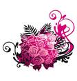 bouquet vector image vector image
