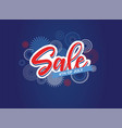 fourth july 4th july holiday banner usa vector image vector image