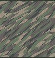 jungle camouflage seamless repeating pattern vector image