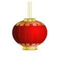 Red Chinese traditional paper lantern