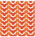simple vintage wave seamless pattern or background vector image