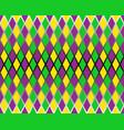 traditional mardi gras seamless pattern vector image
