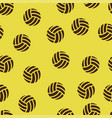 volleyball pattern seamless vector image vector image