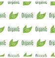 organic vegan healthy food eco restaurant labels vector image