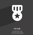Award Medal of Honor icon symbol Flat modern web vector image vector image